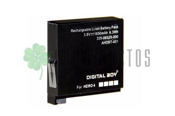 fc357e577c3 ... Gopro Hero 4 Ahdbt-401 Black silver 1650 Mah Volver. Oferta. lightbox ·  lightbox · lightbox