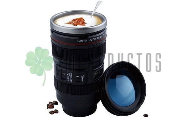 f202f8a03b ... Tazon Taza Mug Tipo Lente De Cámara Fotográfica De Aluminio Volver.  lightbox