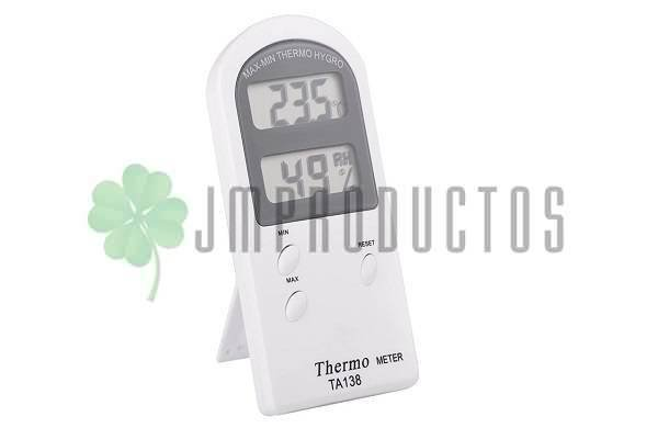Termometro Higrometro Indoor Digital Sonda Temperatura Y Humedad Jm Productos Los mejores termometros versatiles y eficaces para alimentos. termometro higrometro indoor digital sonda temperatura y humedad