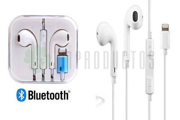 22222458799 ... Audífonos Lighting Bluetooth Compatible Iphone 7 8 Plus X Xs Volver.  lightbox