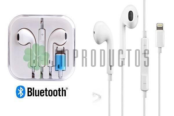 a75014eeb1b Audífonos Lighting Bluetooth Compatible Iphone 7 8 Plus X Xs - JM ...