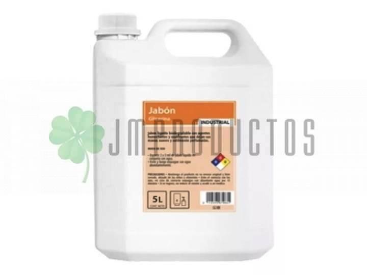 Jabon Liquido Antibacterial 5 Litros Elimina Microganismos